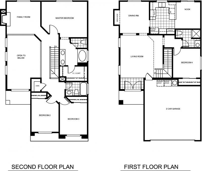 Single Family Floor Plans